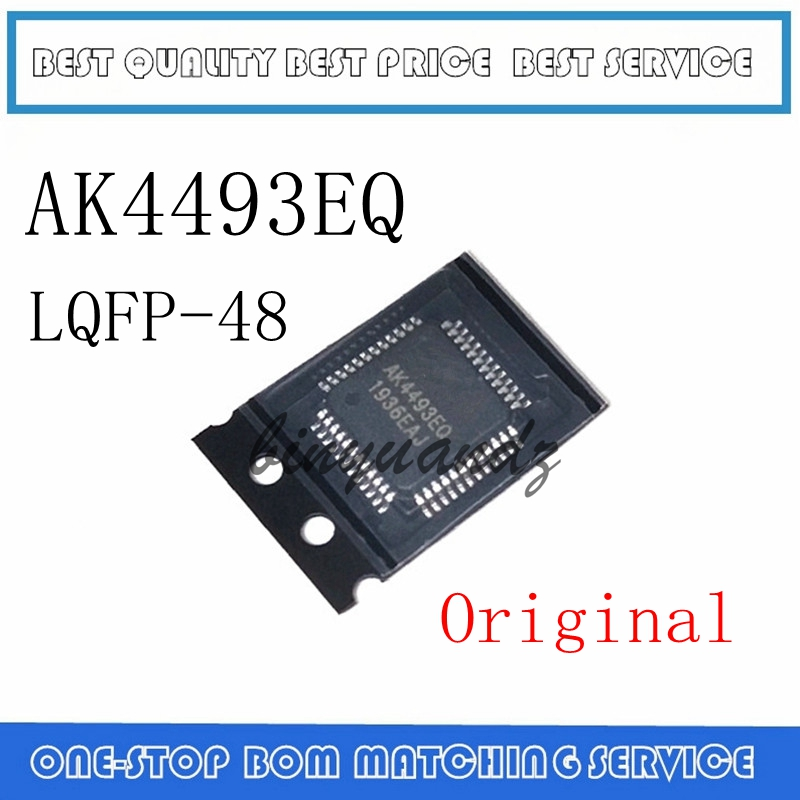 1PCS~5PCS AK4493EQ AK4493 QFP LQFP-48 New Original