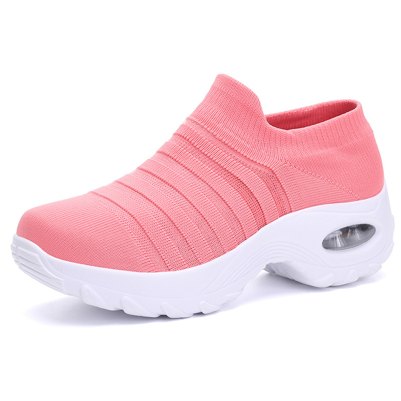Women's Shoes Fashion Womens Sneakers Slip-on Sock Sneaker Women Summer Shoes House Shoes Casual Women's Shoes Size 39