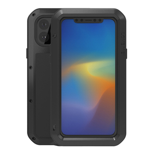 Image 5 - Love Mei Metal Case For iPhone 11 Pro Max Rugged Armor Cover Coque For iPhone 11 Pro Max Shockproof Phone Case Anti Fall Fundas
