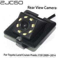 ZJCGO HD CCD Auto Hintere Ansicht rück Back Up Parkplatz Nachtsicht Kamera für Toyota Land Cruiser Prado 150 J150 LC150 2009 ~ 2014-in Fahrzeugkamera aus Kraftfahrzeuge und Motorräder bei