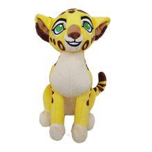 15CM Ty Big Eyes Stuffed Animals The Lion King Cheetah Fuli Ono Figurines Plush Toys Collection Doll Birthday Gift
