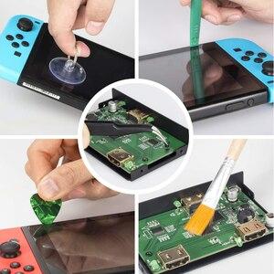 Image 4 - Bevigac 17 In 1 Professionele Beveiliging Game Bit Reparatie Schroevendraaier Kit Set Voor Nintendo Nintend Schakelaar 3DS 2DS Gamecube
