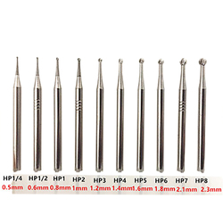 Dental Carbide Burs Rotary Tool Tungsten Carbide Round Rotary Burrs Burr Rotary Dremel Tools Electric