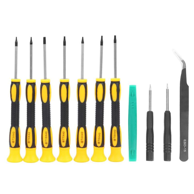 11pcs Disassembly Tool Plum Screwdriver Kit for Tablet Phone Game Console Repair for Mobile Phone Game Machine Uav Tablet