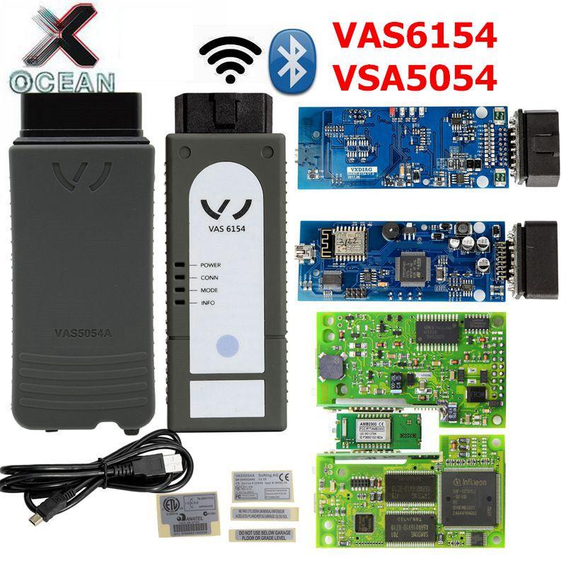 VAS6154 WIFI Version ODIS V5.1.5 Full Chip OKI VAS 6154 5.1.5 Diagnostic Scanner Tool Update VAS54054A VAS 5054 UDS/CAN