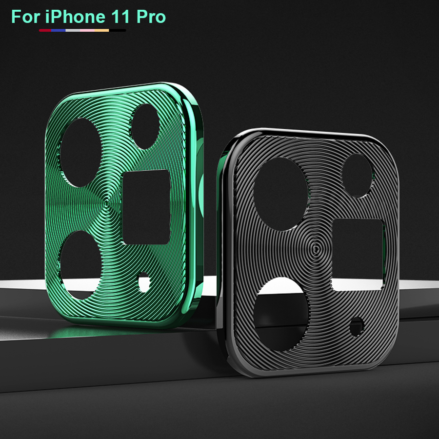Camera Lens Protective Film For IPhone 11 Pro Max Glass Metal Real Camera Len Protector Cover For IPhone11 Pro Max Glass Cover