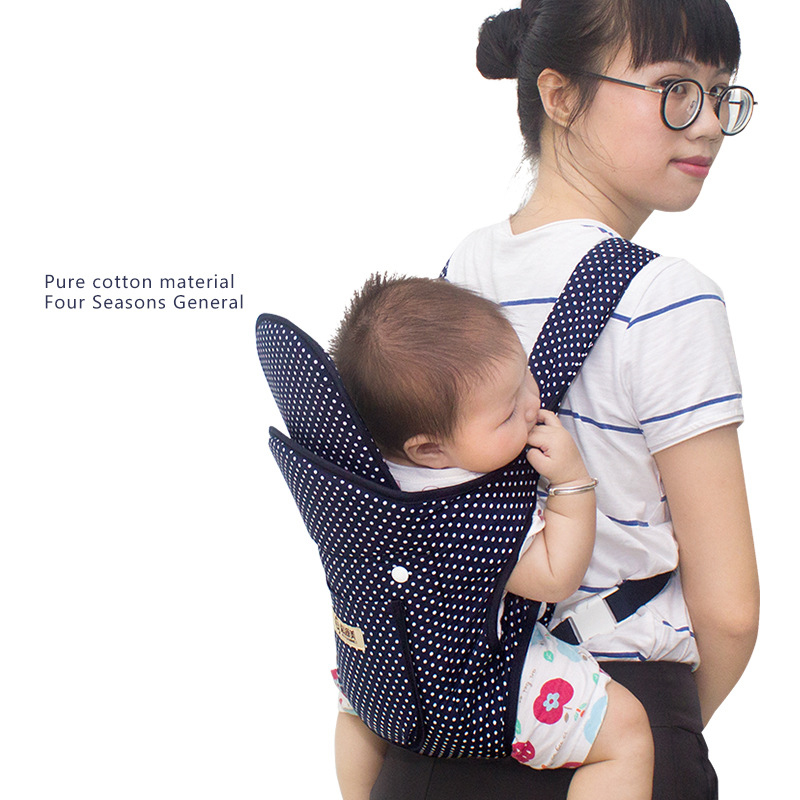 Ergonomic Baby Carrier Infant Kid Baby Shoulder strapHipseat Sling Front Facing Kangaroo Baby Wrap Carrier for Baby Travel summe