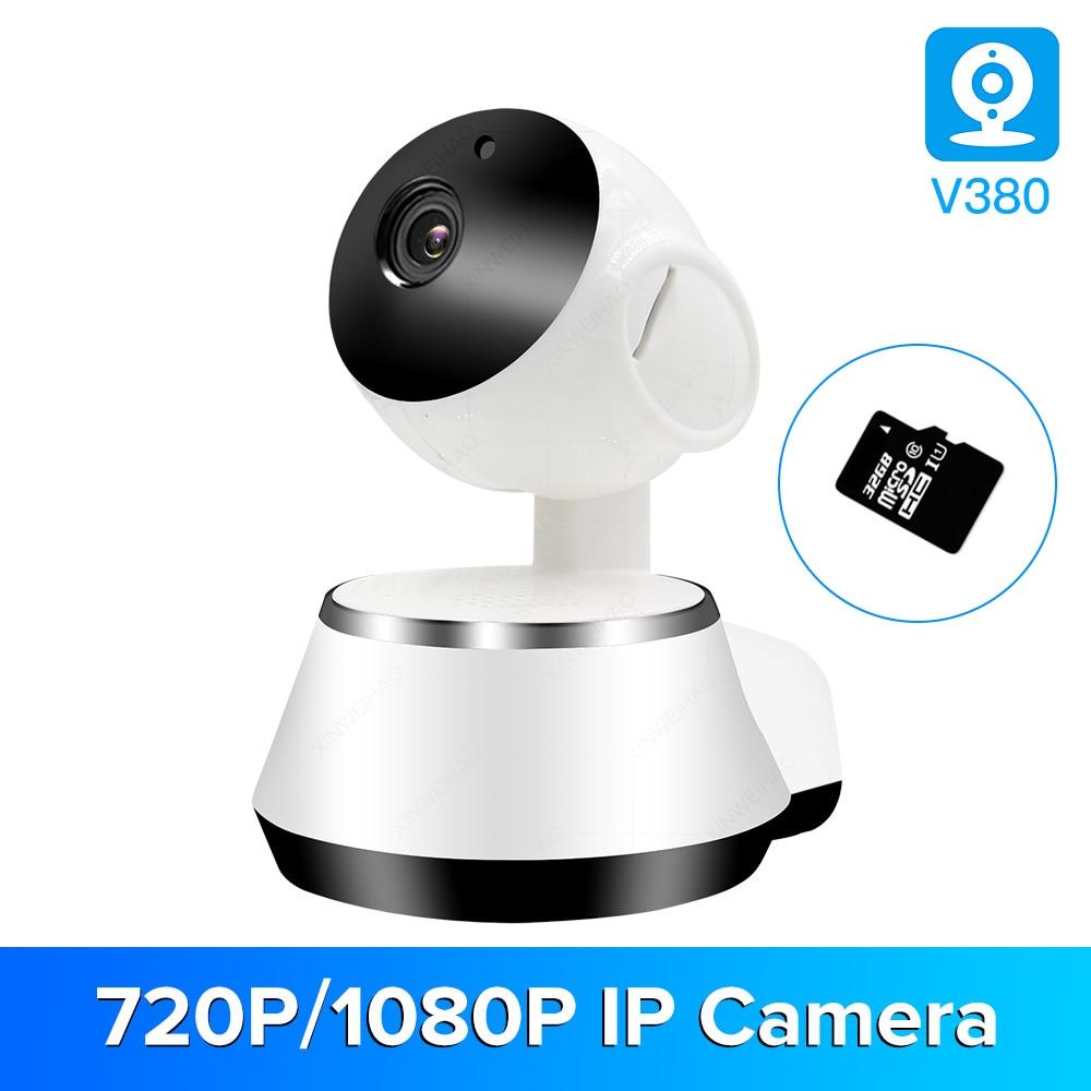 720P Home Security IP Camera Two Way Audio Wireless Mini Camera Night Vision CCTV WiFi Camera Baby Monitor