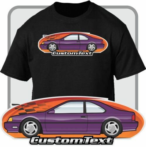Custom Art T-Shirt 1989-97 ThunderBird SC 5.0 V8 Turbo Not Affiliated With