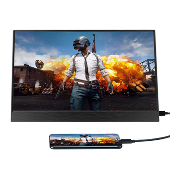 15.6inch Portable Monitor Touchscreen IPS 1080P HDR Gaming Monitor USB C HDMI-compatibe for Switch Smartphone Laptop PS4 XBOX 3
