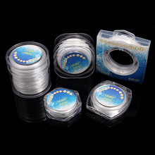 2020 Stretch Line Various Specifications with Box Clear Flat Beading Wire String Jewelry Making DIY Supplies Size 0.6 0.8 1mm