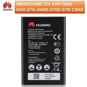 Image 2 - Batería de teléfono Original hb5076rbc para Huawei A199 G606 G610 G700 Honor 8 lite P10Lite P20lite G9 Honor 10Lite Honor9 Ascend P10