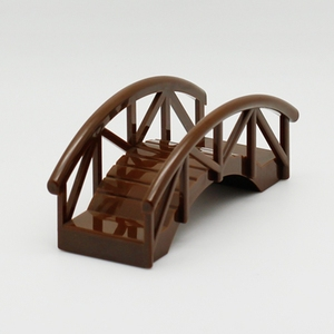 Image 3 - Duplo DIY Bridge Big Size MOC Single Sale Building Blocks Toys for Children Compatible Locking Duplo Educational Baby Gifts