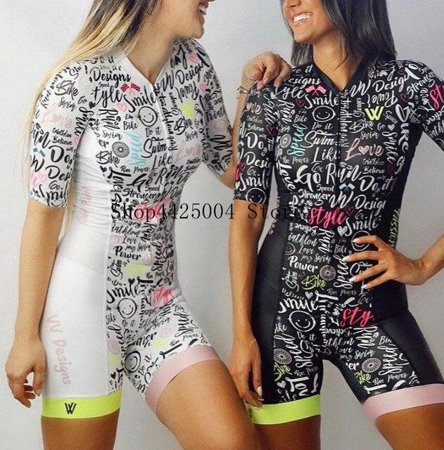 2020 pro equipe triathlon terno de manga curta das mulheres camisa ciclismo skinsuit macacão maillot ciclismo ropa ciclismo conjunto gel 2