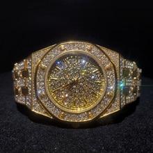 MISSFOX بلايز فاخرة النساء الساعات العلامة التجارية الذهب بلينغ الماس المرأة الساعات أفضل بيع مقاوم للماء السيدات ساعة مع صندوق هدية