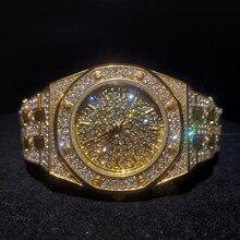 Missfox Tops Luxe Vrouwen Horloges Merk Goud Bling Diamant Vrouwen Horloges Best Verkopende Waterdichte Dames Horloge Met Gift Box
