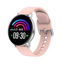 Новые женские Смарт часы с сенсорным экраном пульсометром сном