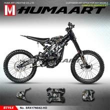 HUMARRT รถจักรยานยนต์สติกเกอร์กราฟิกไวนิลสำหรับ Sur Ron Light Bee X S จักรยาน,No. SRX17N042 HO, Camouflage