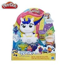 Hasbro Play Doh Voiceable Unicorn Ice Cream Making Children's Plasticine Clay Toy Set E5376