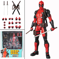 6inch New Mafex 082 Deadpool Comic Version Action Figure Collectable Model Toy Doll Gift