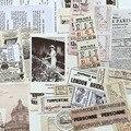 Старинные чековые винтажные бумажные материалы крафт-бумага для скрапбукинга/изготовления открыток/проект журнала «сделай сам» украшение...