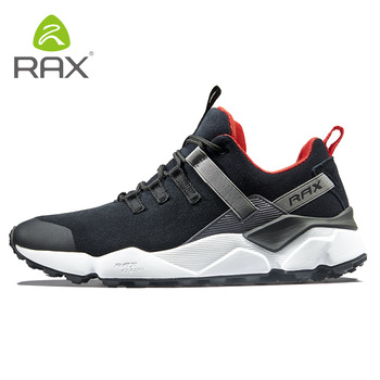 Rax 2018 Winter Newest Running Shoes Men Outdoor Antislip Sneakers for Warm Breathable Trainer Lace-up Male