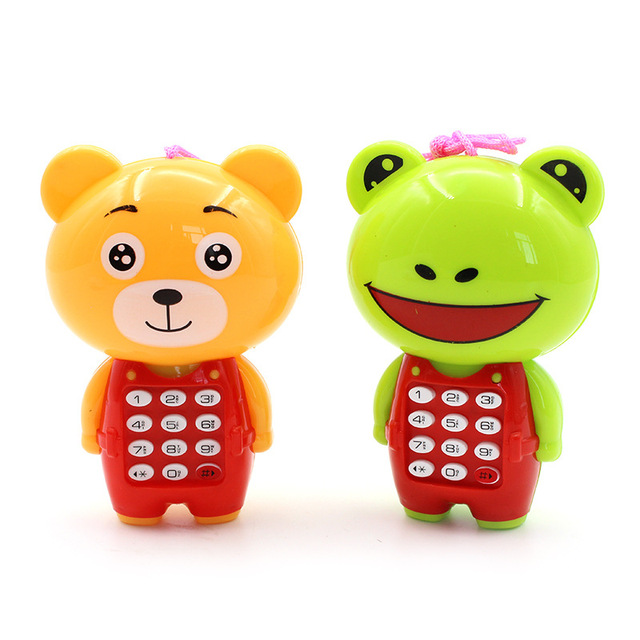 New Creative Cartoon Music Phone Baby Toys Mobile Phone Educational Learning Electric Toy Phone Model Machine Best Gift For Kids