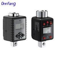 Onnfang  chave de torque 0.3-2000nm 1/2 3/8 1/4 3/4 ajustável  kit de chave de torque digital para reparo de bicicleta e carro