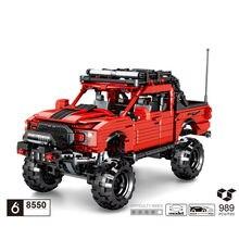 Методы монстров грузовик строительный блок ford orv raptor f150
