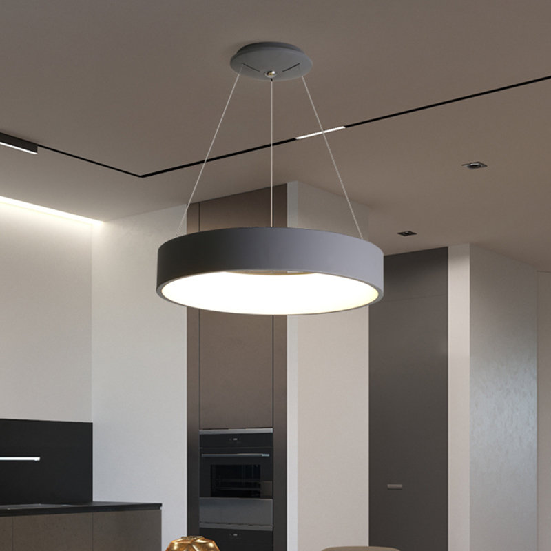Lamparas modernas led colgantes Lampe Lamparas reales para suspensión de cocina Luminaire Moderne lampara lámparas colgantes comedor