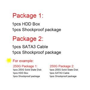 Image 5 - SAMSUNG SSD 860 EVO 250 GB 500GB 1TB disco de estado sólido interno Disco Duro HDD SATA3 portátil de 2,5 pulgadas PC de escritorio TLC 250 GB
