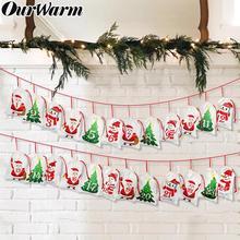 Наш теплый 24/31 дней мешок Рождество Адвент украшение для календаря DIY Адвент Календарь Рождественские украшения для дома подарки на год