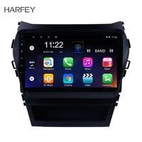 Harfey 2Din Car GPS Multimedia Player Auto Radio For 2013 2014 2015 2016 2017 Hyundai IX45 SantaFe 9 Android 8.1/9.0 Head Unit