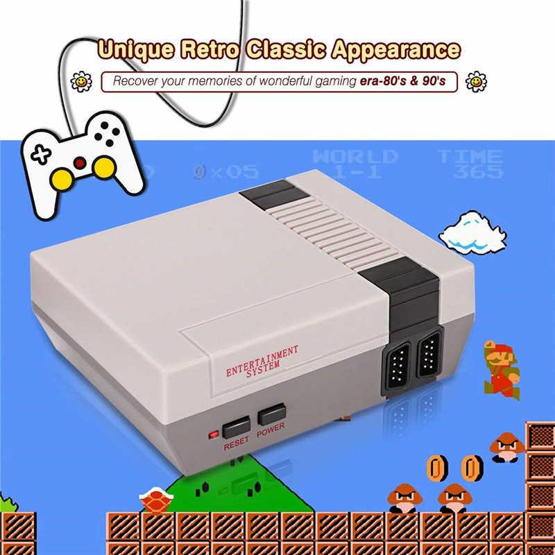 Mini telewizor konsoli do gier Retro 8 Bit konsola do gier gra wideo wbudowana 620 klasyczne gry konsoli do gier HD maszyna do nintendo ds