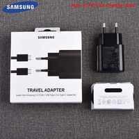 EP-TA800 Samsung Nota 10 Pro de la UE de tipo C adaptador de cargador USB tipo C USB 3,0 cargador de Cable de 1M para Galaxy Nota 10 S8 S9 S10 Plus