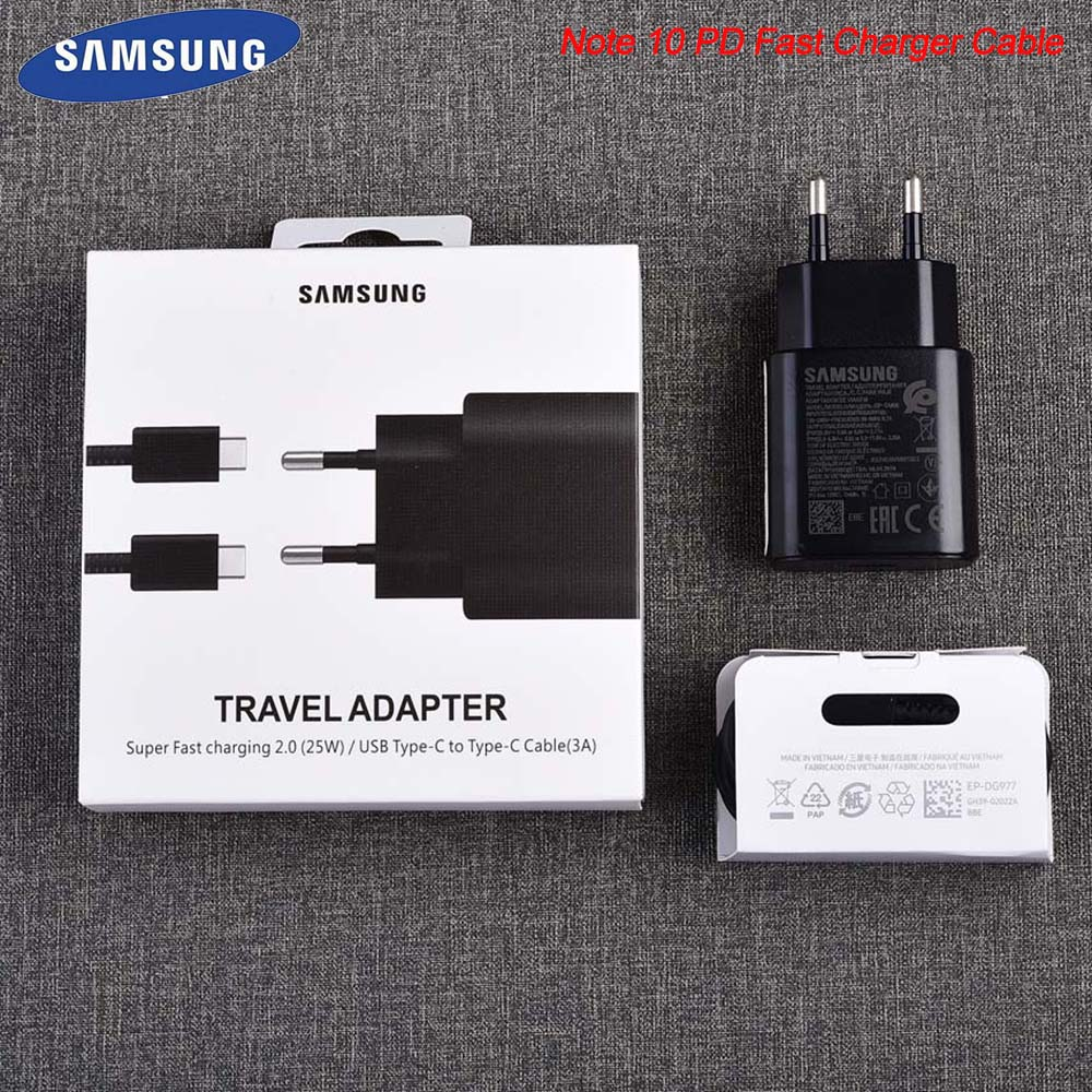 EP TA800 Samsung Note 10 Pro EU Type C Charger Adapter USB 3.0 TYPE C Fast Charger 1M Cable For Galaxy Note 10 S8 S9 S10 Plus|Mobile Phone Chargers| |  - title=