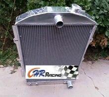 Aluminium kühler für CHEVY HEIßER/STRAßE STANGE 350 V8 1938 Automatische