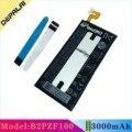 Хорошее качество Высокая емкость B2PZF100 батарея для телефона для HTC Ocean Note U-1w U Ultra U-1u 3000 мАч Замена