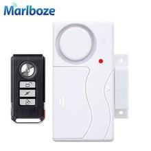 Sistema de alarme de proteção doméstica, segurança de entrada de janela e de porta, com controle remoto sem fio ABS, sensor da porta, segurança contra ladrão