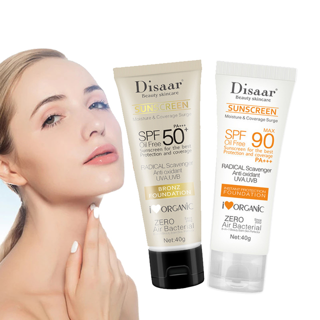 Facial Body Sunscreen Whitening Sun Cream Sunblock Skin Protective Cream Anti-Aging Oil-control Moisturizing SPF90 Face 1