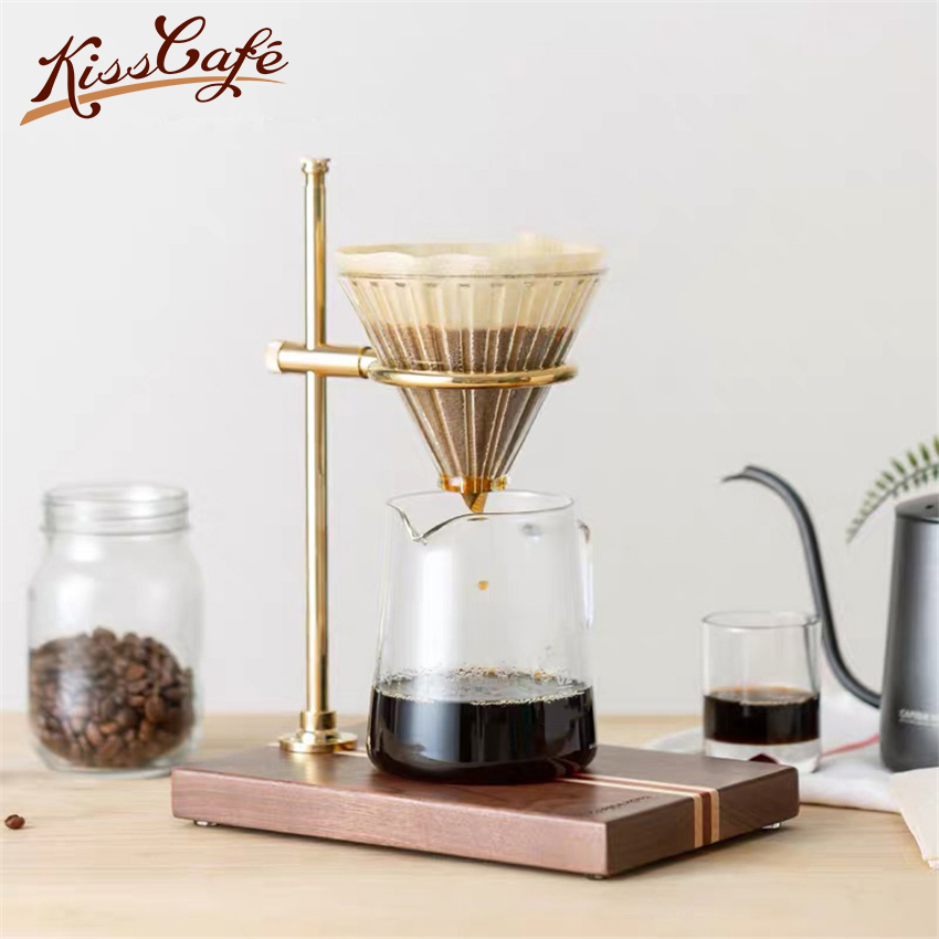 Reusable Coffee Filter Holder Pour Over Coffees Dripper MesCWY
