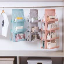 Подвесная сумка кошелек органайзер для гардероба 4 слоя 8 карманов