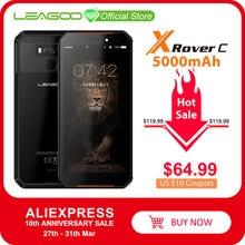 "LEAGOO X Rover C IP68 สมาร์ทโฟนกันน้ำ 5.72 ""mtk6739 Quad Core 2GB 16GB 13MP 5000mAh face ID ลายนิ้วมือโทรศัพท์"