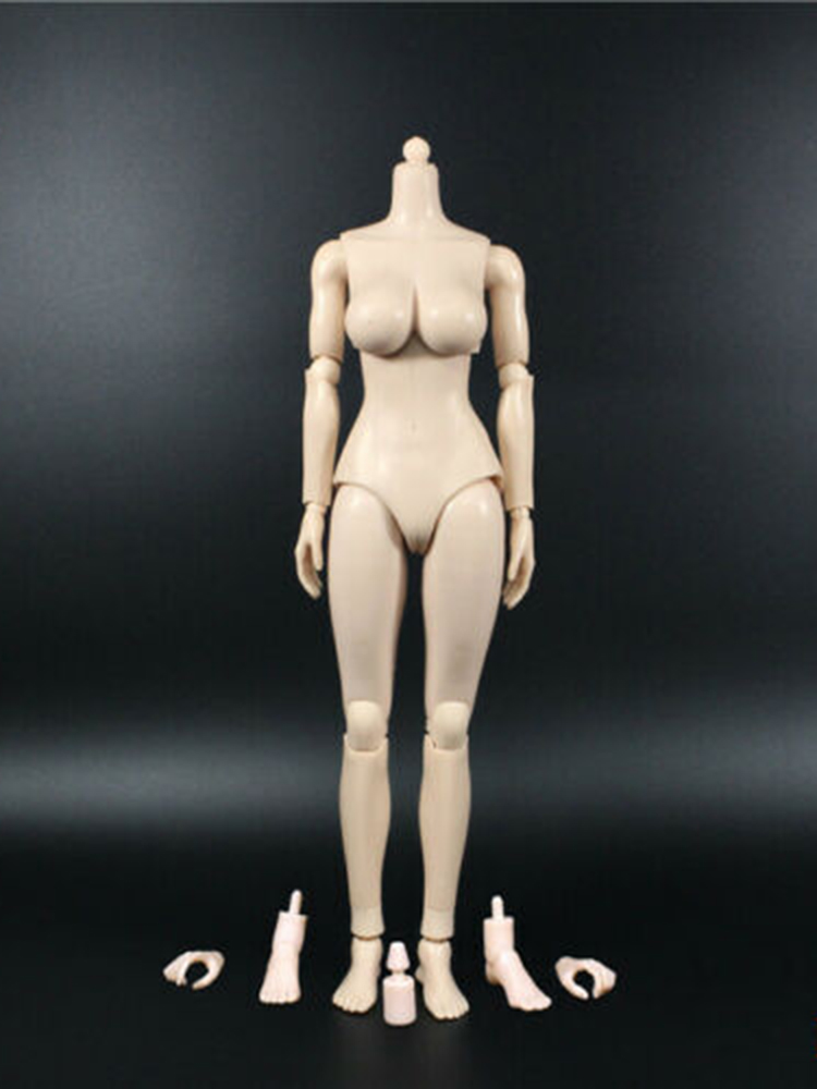 "US 1//6 KIMI TOYS Women Head Sculpt fit 12/"" Phicen Suntan TBleague Figures Body"
