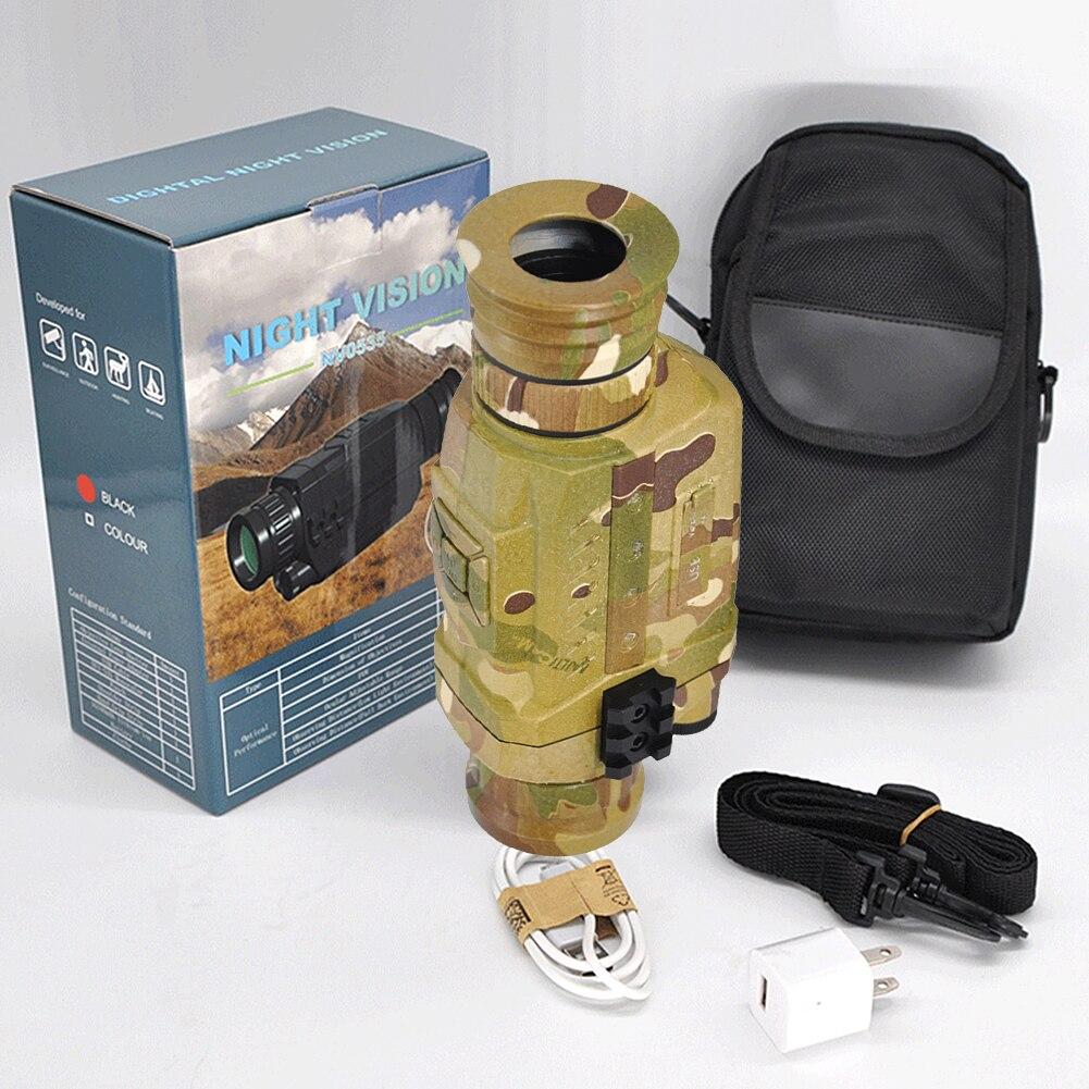 Vision nocturne monoculaire 5X infrarouge caméra numérique vidéo 200m portée portée pour la chasse en plein air Camping utilisé pour prendre des Photos nouveau D - 3