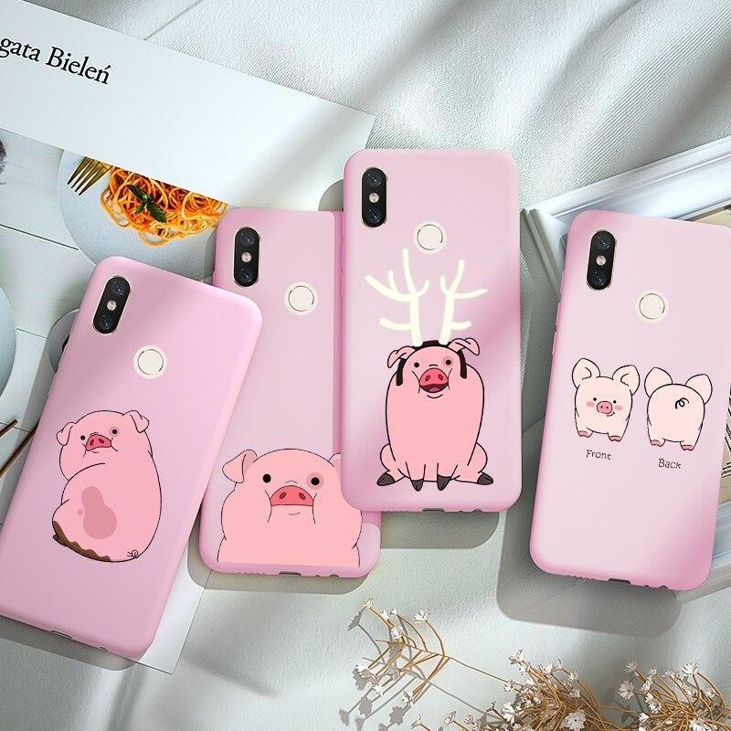 TPU For Xiaomi Redmi Note 8 8T 5 6 7 Pro 5 Plus 6 Pro 8A 7A 6A 5A K20 Mi 8 A2 Lite 9T Pro A3 Case Back Candy Soft Silicone Cases