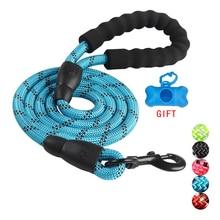 Прочный нейлоновый поводок для собак, цвет 1,5 м, поводок для собак для прогулок, тренировочный поводок для кошек, собак, поводок, ремень для собак