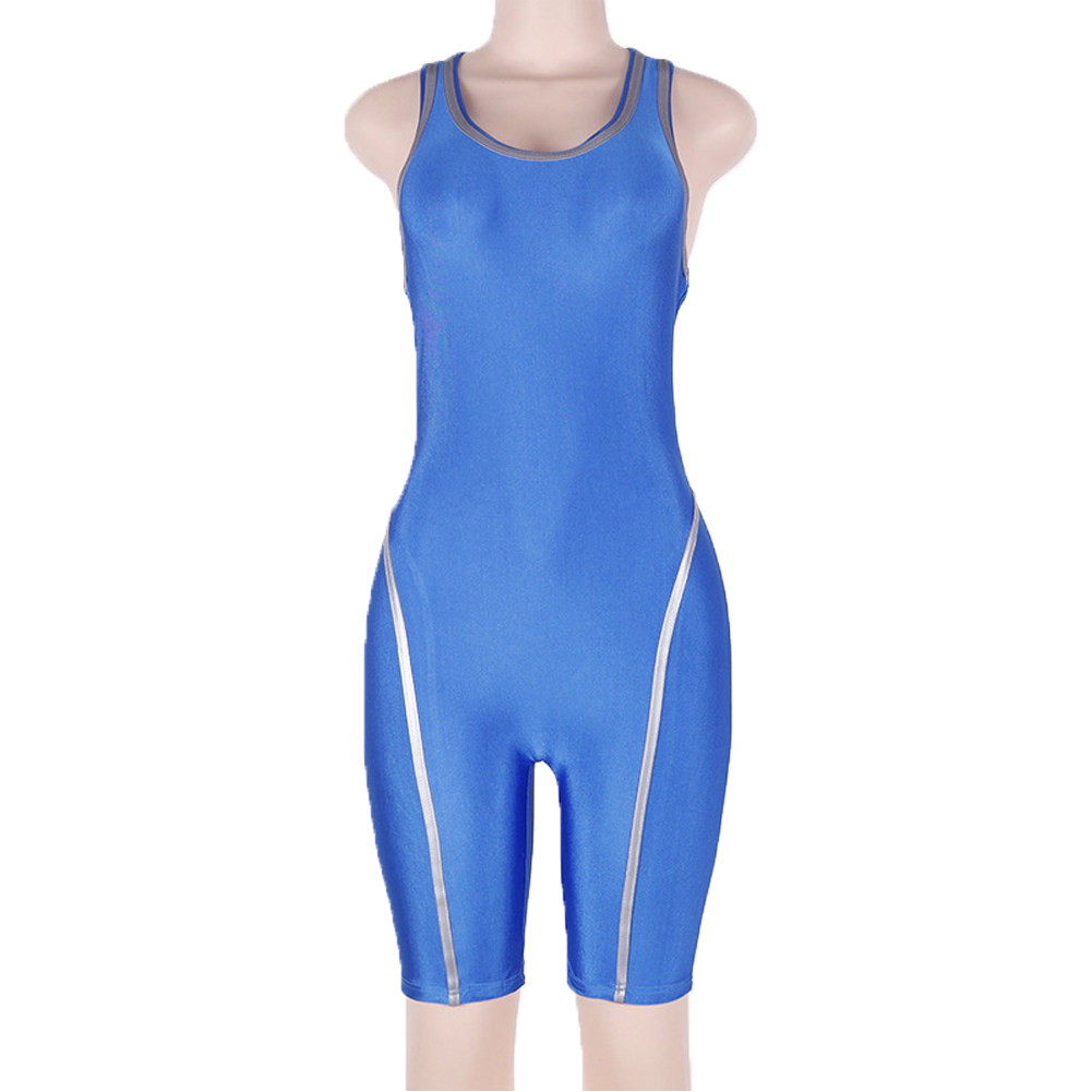 Women Ladies Jumpsuit Romper Bodycon Playsuit Clubwear Short Trousers For Gym Sports Fitness Workout Yoga Running