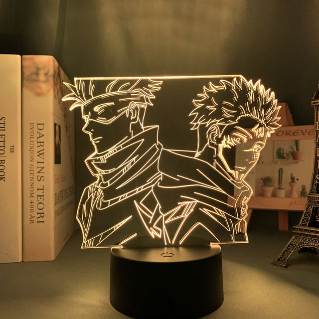16 COLOR WITH REMOTE JUJUTSU KAISEN 3D LED LAMP (11 VARIAN)