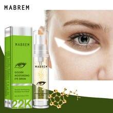 Mabrem 24k Золотая Сыворотка против морщин для глаз увлажняющая